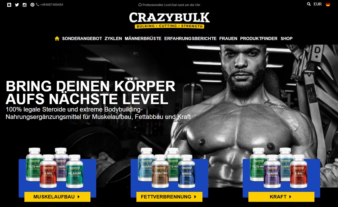 CrazyBulk Rezension
